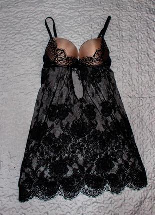 Кружевная сорочка jasmine 8202/71 karmelita. размер 75с. распр...