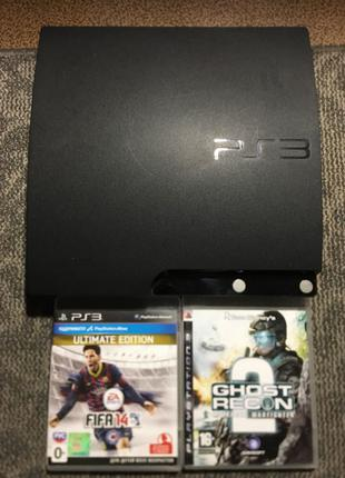 Продам sony playstation 3 slim (CECH-2003A)