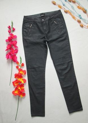 Шикарные джинсы скинни с пропиткой декорированные заклепками d...