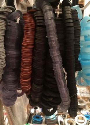 Прокладки сантехнические наборы резиновые кольца паронит Санте...