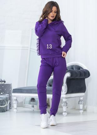Женский спортивный костюм. Размеры:44-52.
