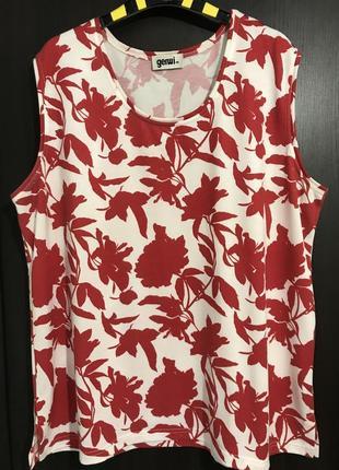 """Майка-блуза """"красные листья"""""""