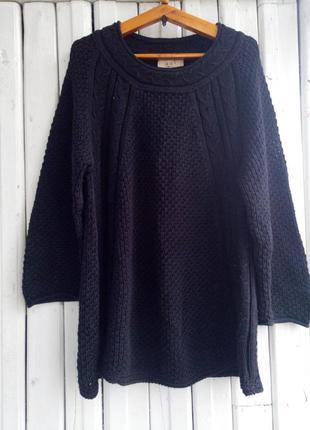 Черные свитер oui чорний светр кофта джемпер