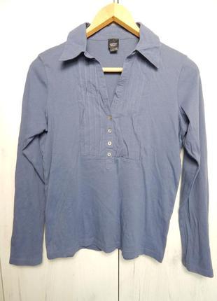 Рубашка с глубоким декольте