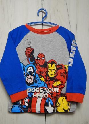 Кофта пижама marvel heroes