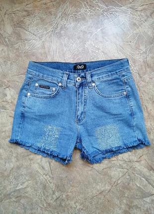 Джинсові шорти dolche & gabbana джинсовые шорты шортики джинси