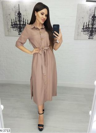платье / платье- рубашка / длинная рубашка