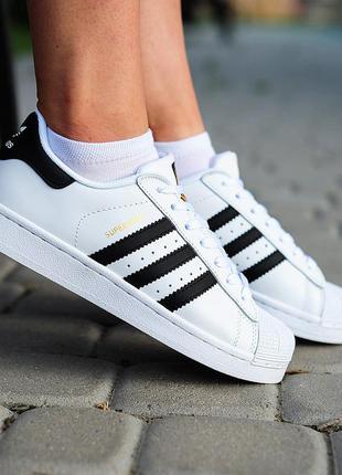 Adidas superstar classic🔺женские кроссовки адидас суперстар