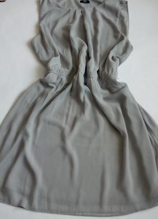 Платье 56 58  размер мини короткое нарядное крутое  серое кокт...