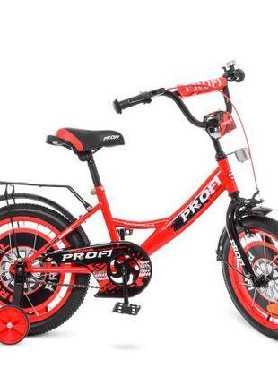Детский велосипед Profi Original boy Y 1846 18 дюймов красно-черн