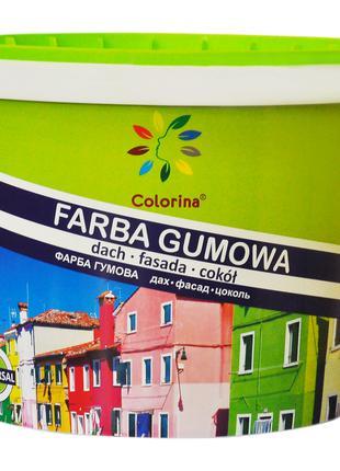 Краска Colorina для крыш оцинковке шиферу - вес 24 кг RAL 8017