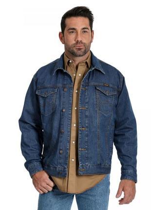 Wrangler джинсовая куртка с карманом для оружия оригинал из сша