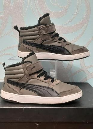 Детские демисезонные ,ботинки puma