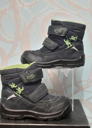 Richter ботинки детские демисезонные на липучках