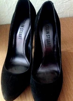 Новые! туфли натуральная замша colin stuart