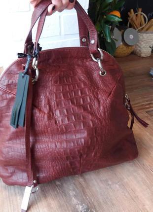 Новая сумка gianni chiarini. кожа. италия. оригинал.