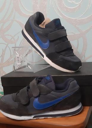 Nike   кроссовки детские на мальчика на липучках