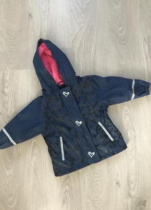 Утеплённый дождевик куртка демисезонная