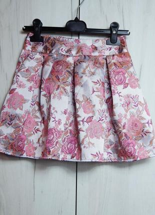 Стильная юбка на девочку 7-8 лет