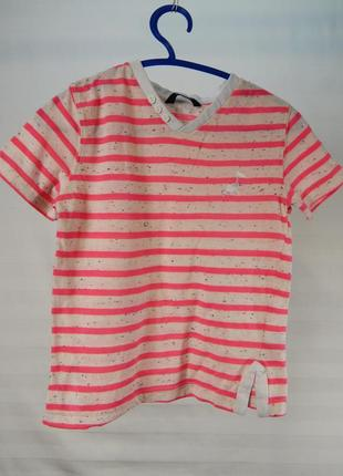 Яркая футболка для девочки 3-4 лет