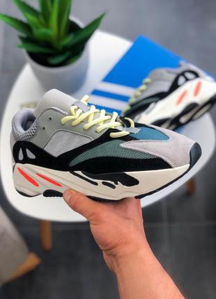 "Кроссовки женские  adidas yeezy boost 700 ""wave runner"