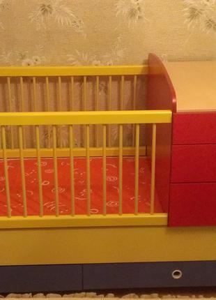 Детская кроватка трансформер ТМ Cilek