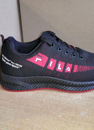 "Весенние кроссовки в стиле ""Fila""."