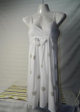 Легкое летнее платье на девочку 12 лет