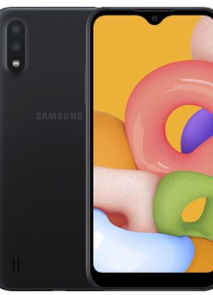 Samsung Galaxy A01 2/16GB Black(SM-A015FZKDSEK)