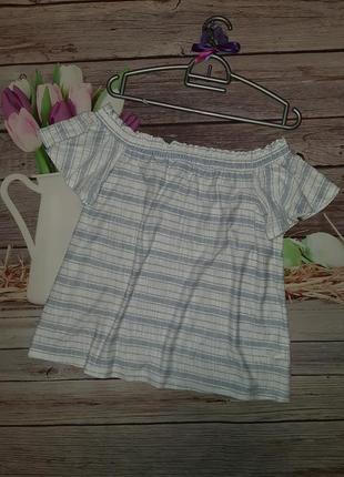 Блузка кофточка с приспущенными плечами