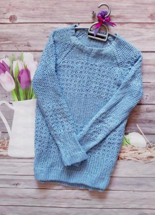 Модный свитер реглан