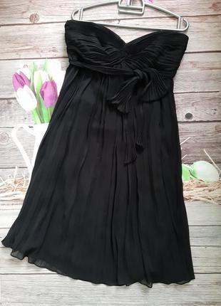 Нарядное платье шифоновое свободного кроя