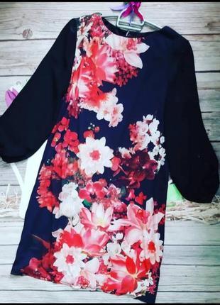 Нарядное платье прямого кроя