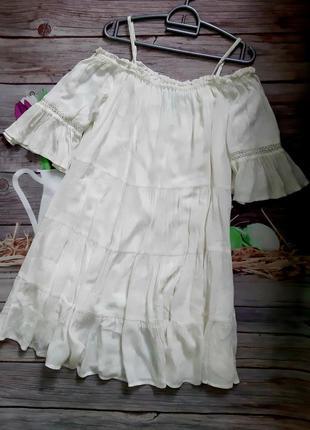 Лёгкое платье свободного кроя