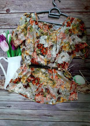 Красивая нарядная блузка шифоновая