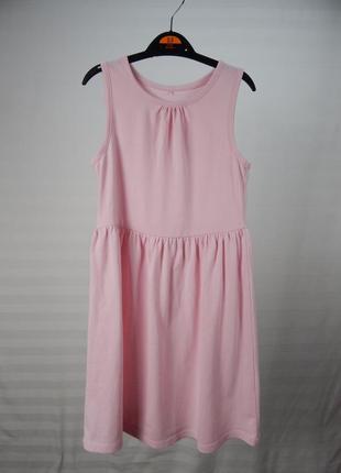 Легкое платье на девочку 7-8 лет