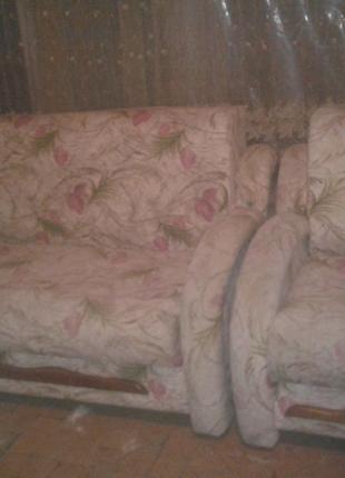 Діван +крісло