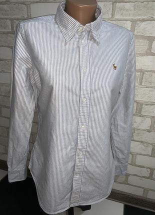 Крутая брендовая качественная оригинальная рубашка ralph laure...