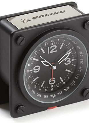Будильник Boeing Pilot World Time Alarm Clock