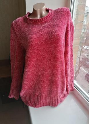 Плюшевый свитер батал большой размер bonmarche (к082)