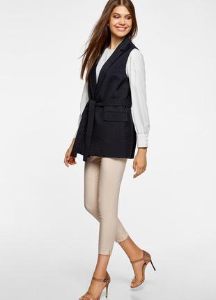 Стильная жилетка,кардиган,шелк с бархатом, big fashion