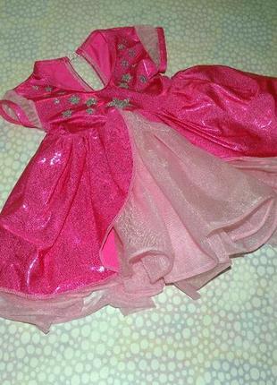 Пышное нарядное платье 1-3 года