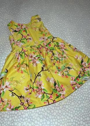 Платье синички 1-2 года