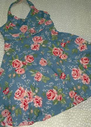 Сарафан розы 9-10 лет