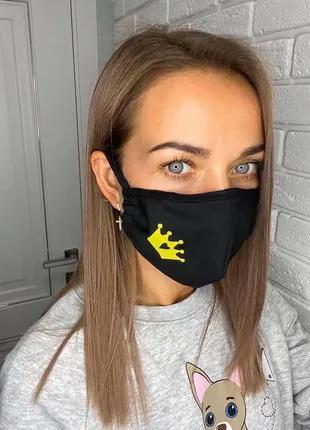 Защитная медицинская маска со сменными фильтрами