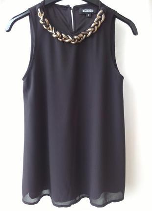 Красивая стильная блуза с декором
