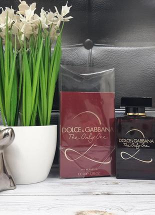 ❤оригинал ❤100 мл dolce&gabbana the only one 2 парфюмированная...