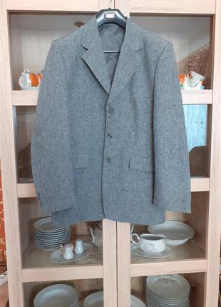 Стильный пиджак большого размера италия