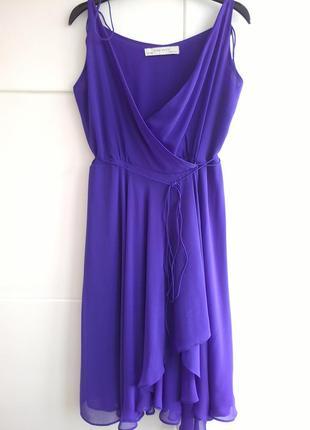 Платье с запахом zara