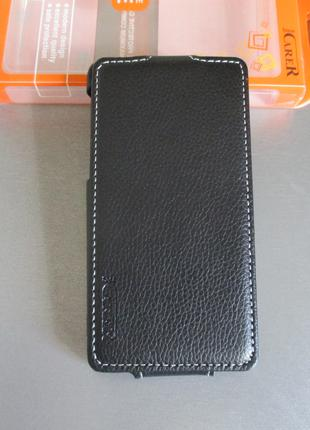 Чехол флип iCARER для Huawei Honor 3 u8860